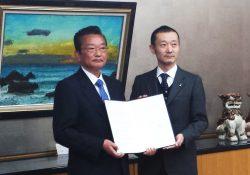 左より千葉県高橋副知事、全木協小川専務理事